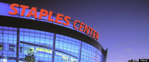 Staples Center Downtown Los Angeles California
