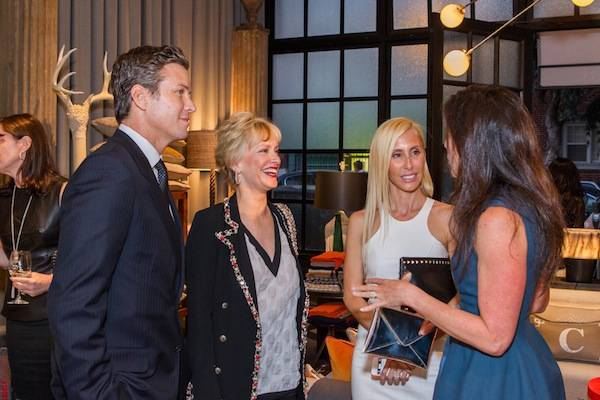 Cavalier Grand Opening event honoring Alexandra Von Furstenberg