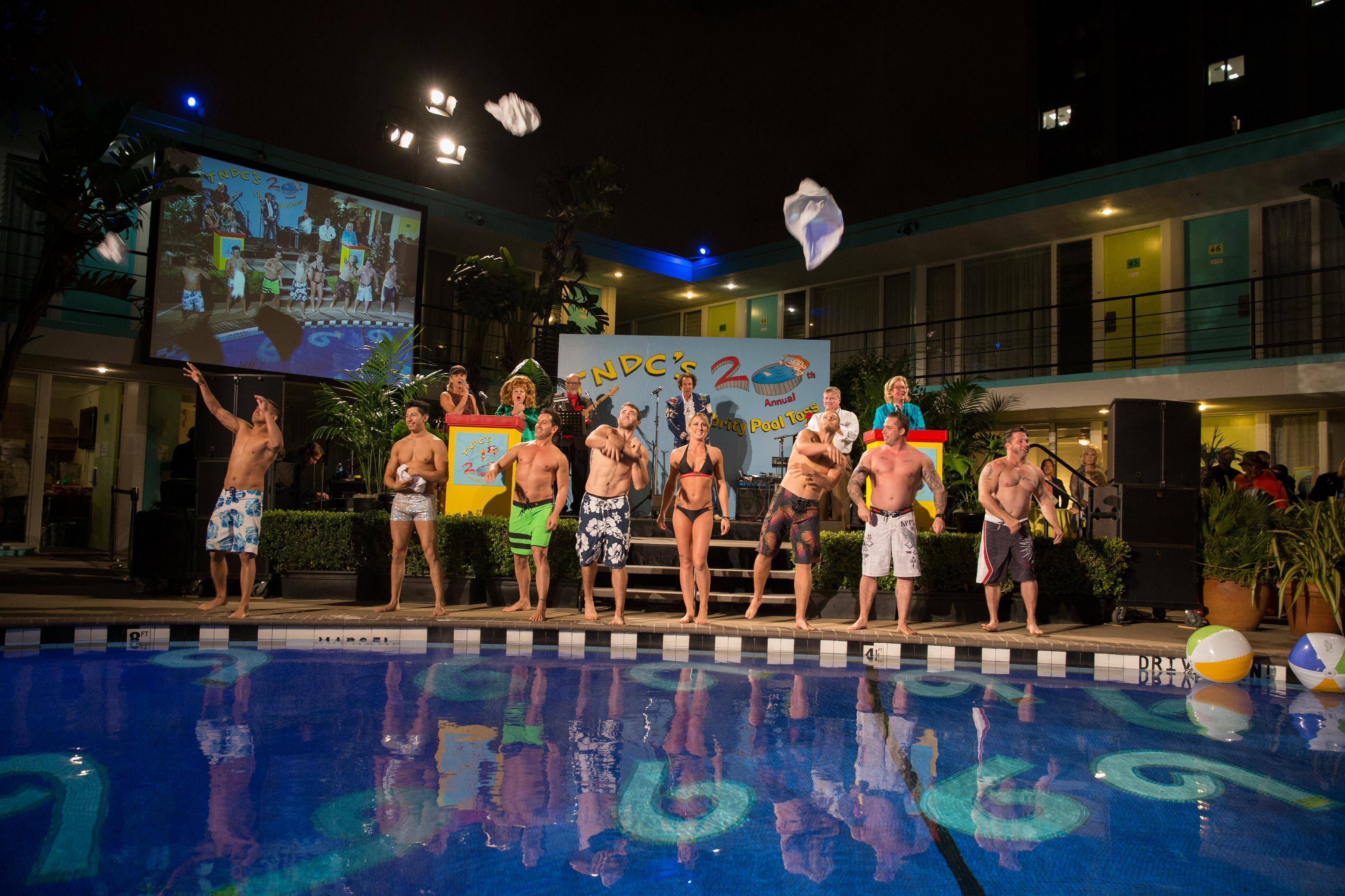 TNDC's 20th Annual Celebrity Pool Toss