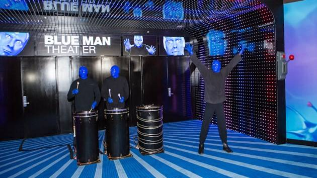 Blue Man Group Cast Members