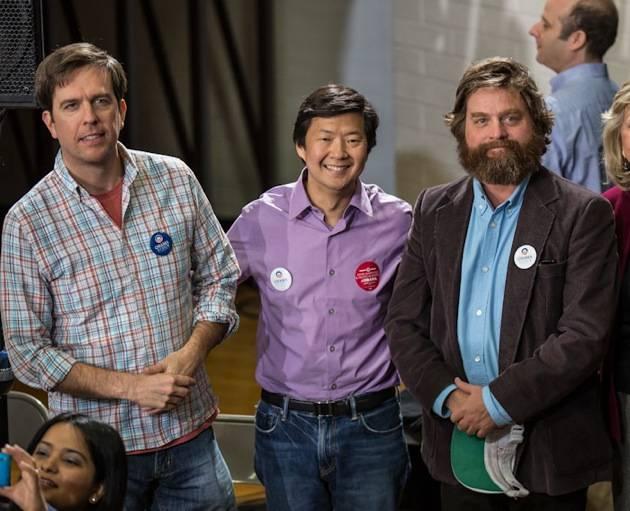 Ed Helm, Ken Jeong and Zach Galifianakis