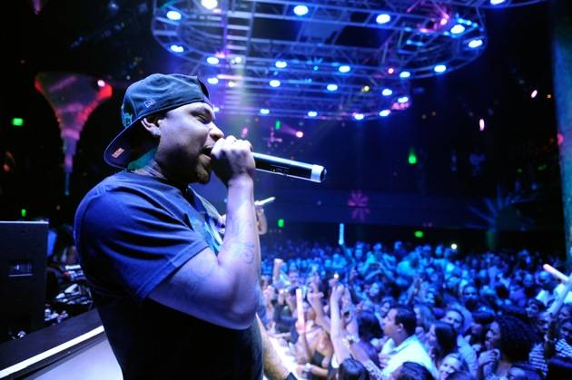 Nelly Performs At Haze Nightclub At The Aria Hotel In Las Vegas