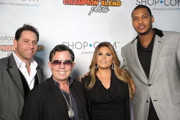 Carmelo Anthony & SHOP.COM launch Isotonix Champion Blend Plus Supplements
