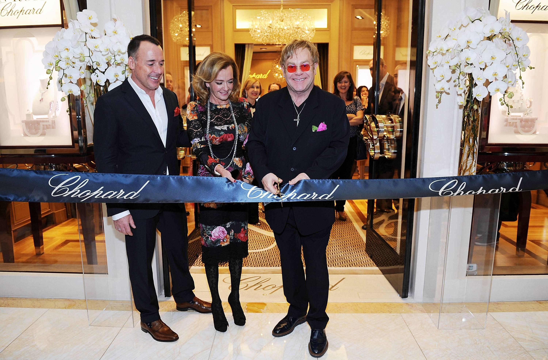 Chopped Grand Opening At Wynn Las Vegas With Sir Elton John
