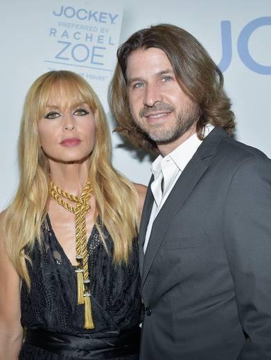 Rachel Zoe & Roger Berman