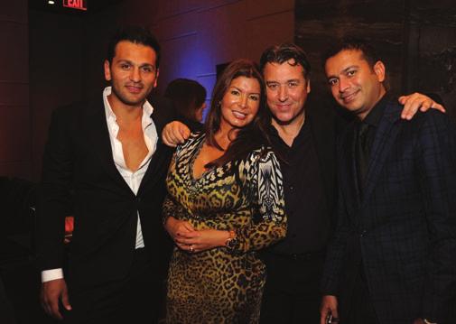 Joe Fournier, Marta & Rick De La Croix, & Kamal Hotchandani