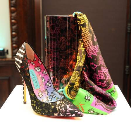 JIMMY CHOO Celebrates the Collaboration with Artist Rob Pruitt in New York City