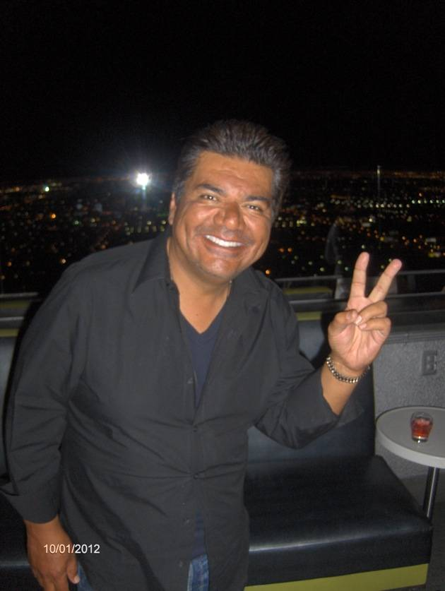 George Lopez at ghostbar in Palms Casino Resort Las Vegas 10.1.12