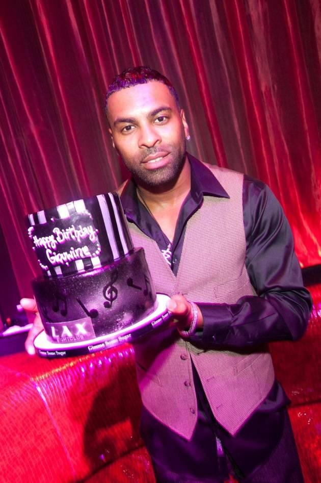 Ginuwine_LAX Nightclub_Birthday Cake
