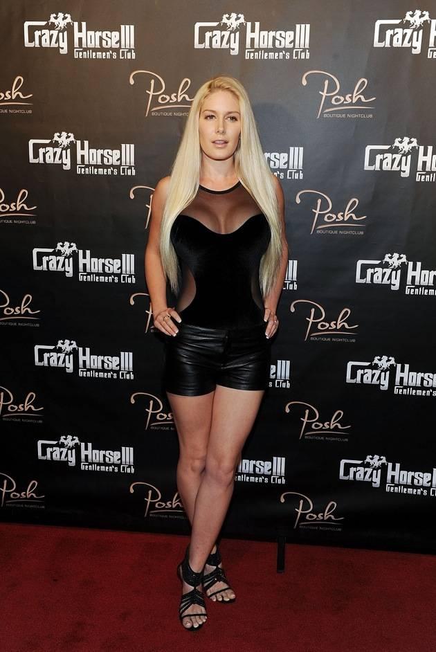 Heidi Montag Hosts Crazy Horse III's Three Year Anniversary Party In Las Vegas