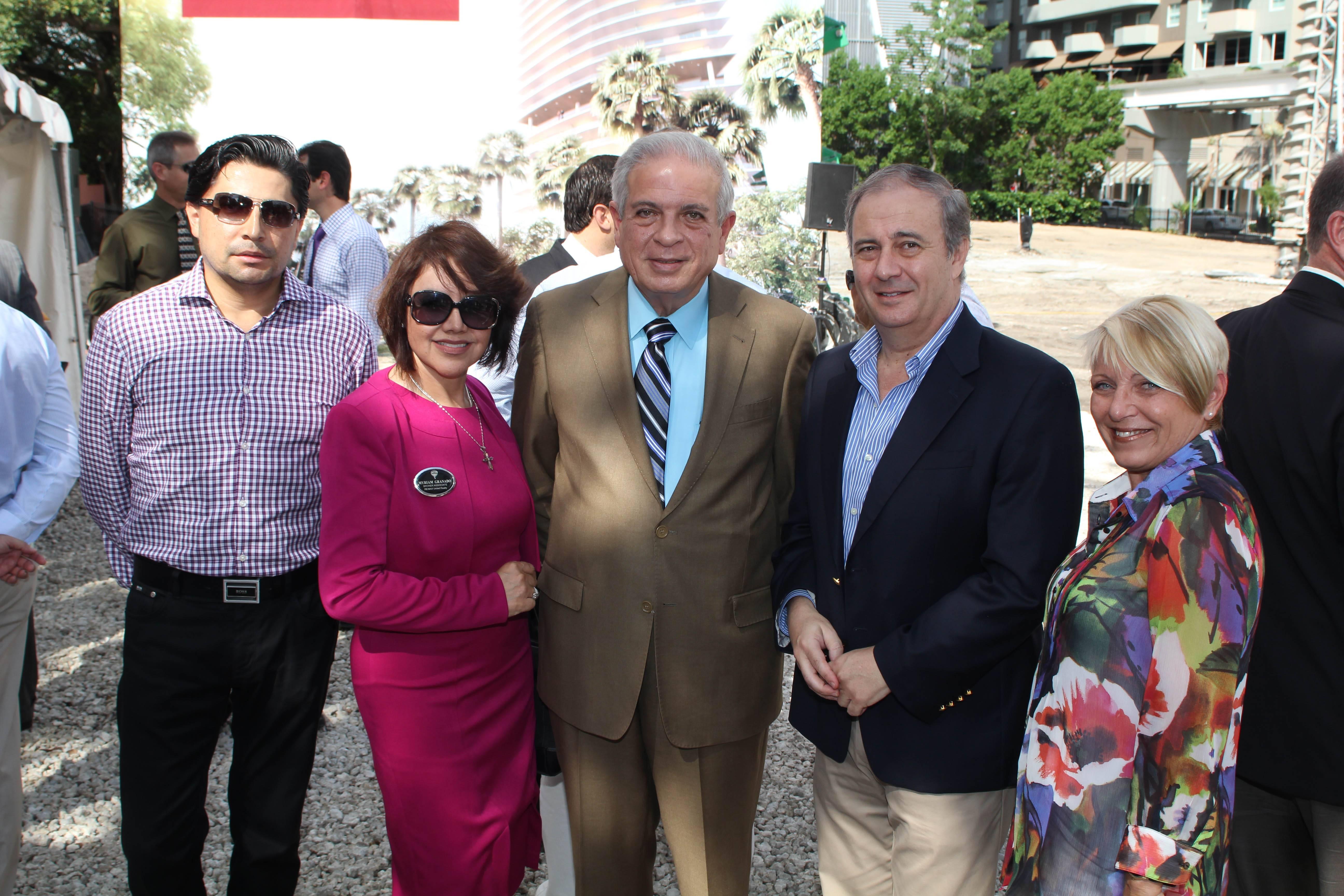 Jaime Albarracin, Myriam Granado, Mayor Regalado, Sergio Lemme, Debi Quade