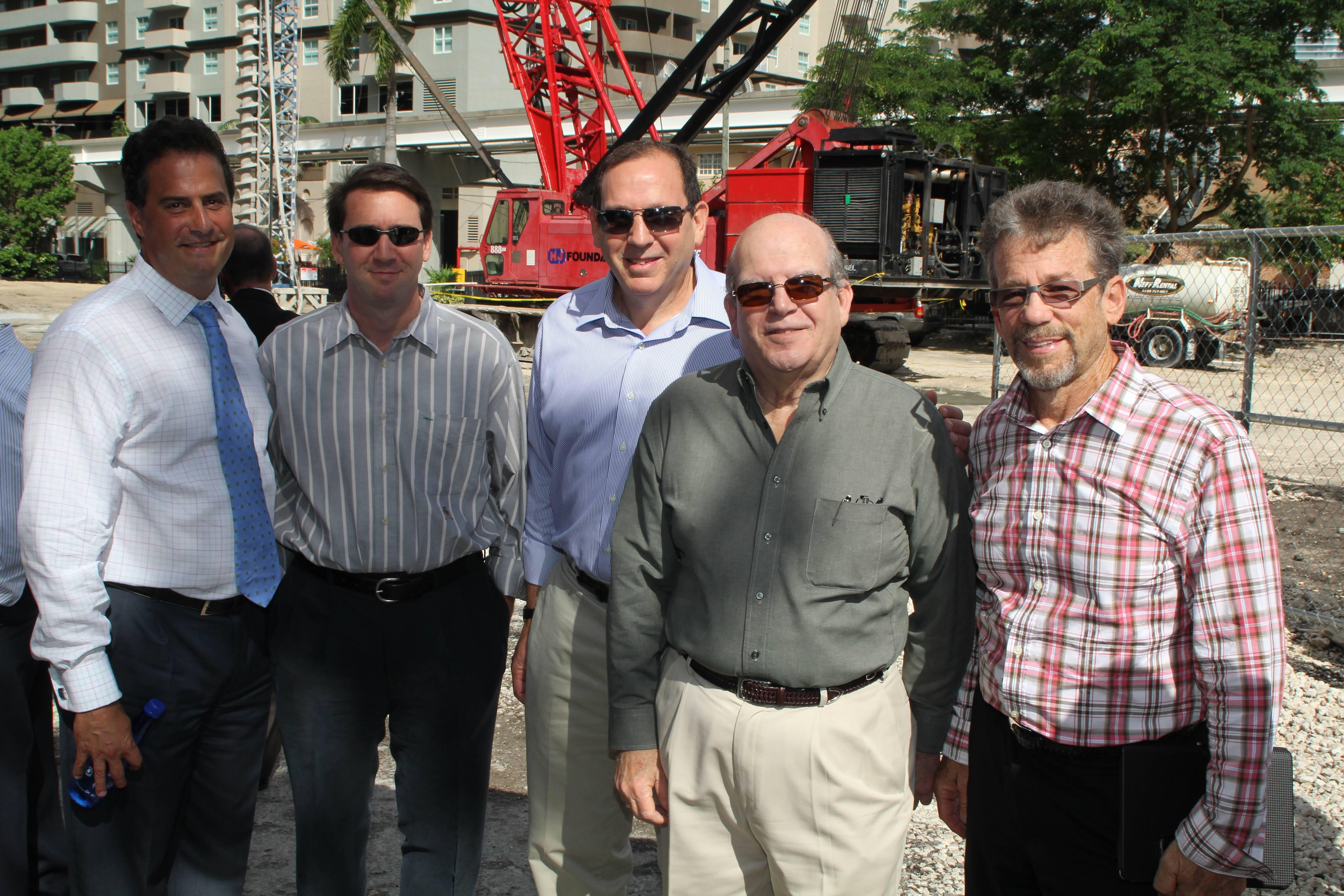 Jim Werbelow, Sandy Peaceman, Larry Freedman, Bill Encinosa, Steve Feller