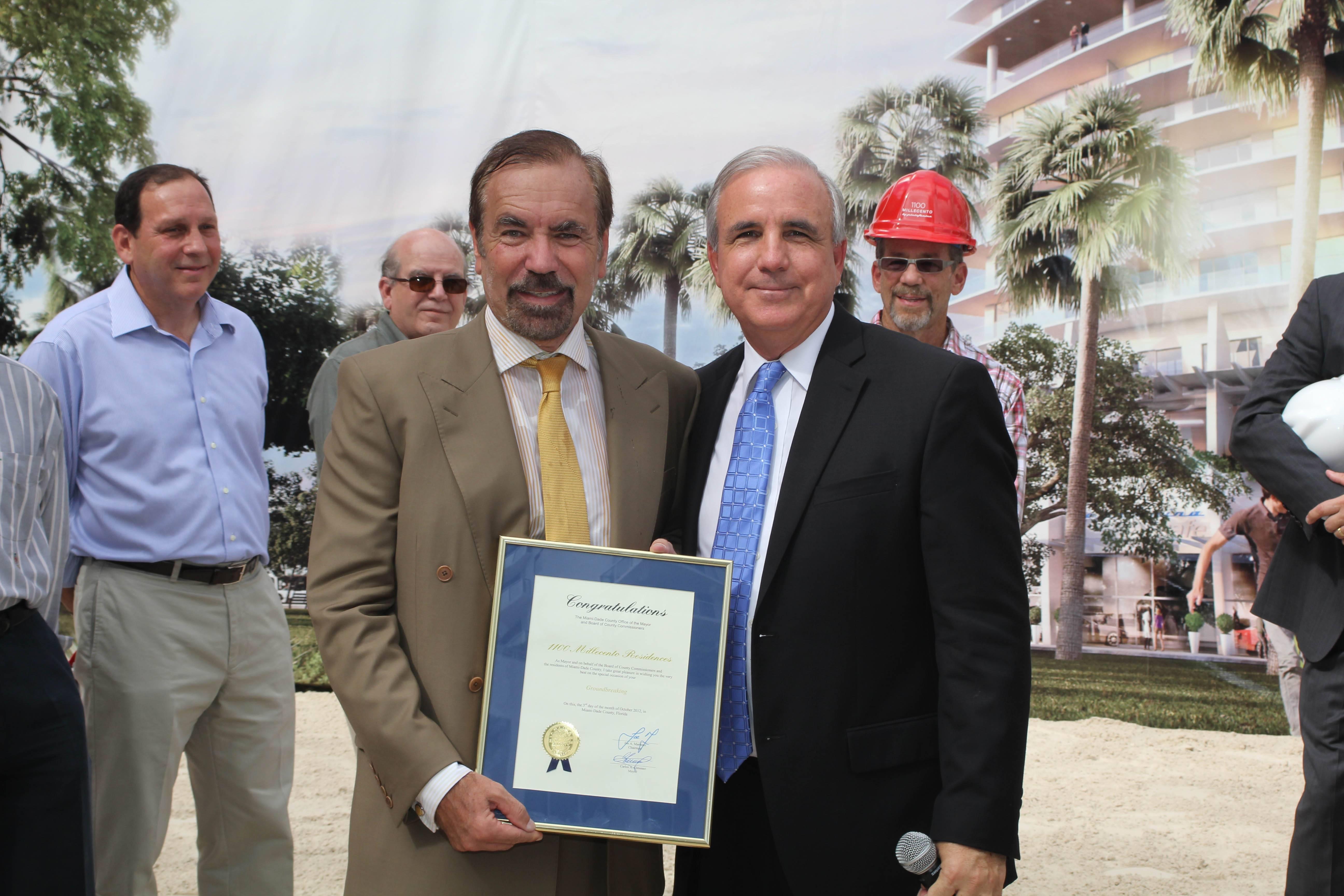 Jorge Perez, Mayor Gimenez
