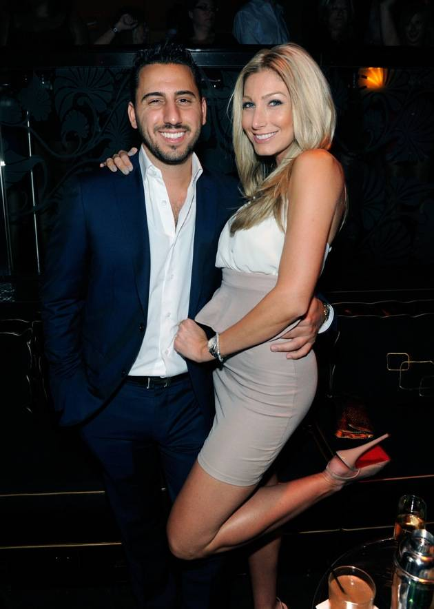 Josh Altman and Heather Bilyeu at the Bank.