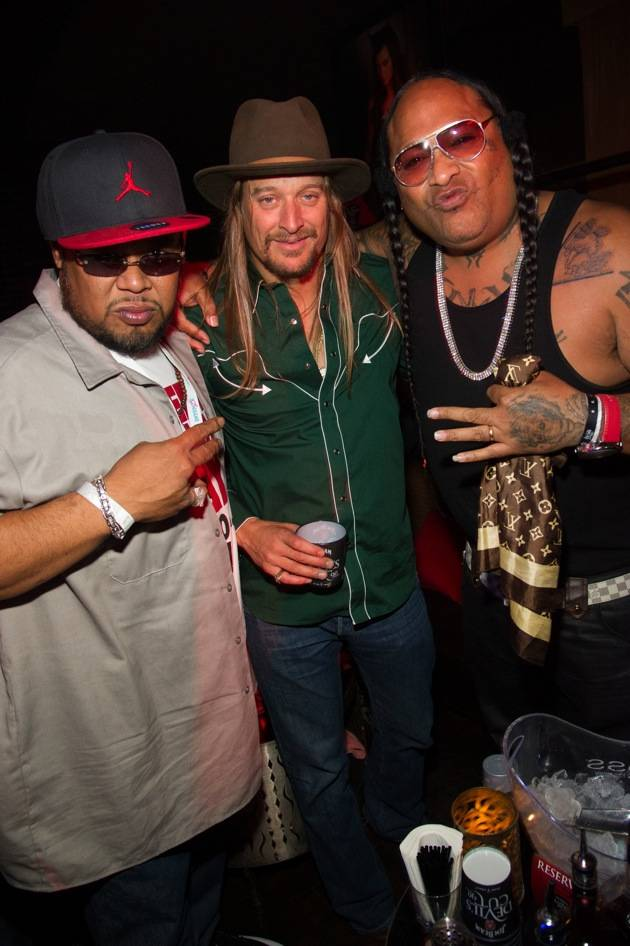 Kid Rock hosts the Maxim Halloween party at LAVO