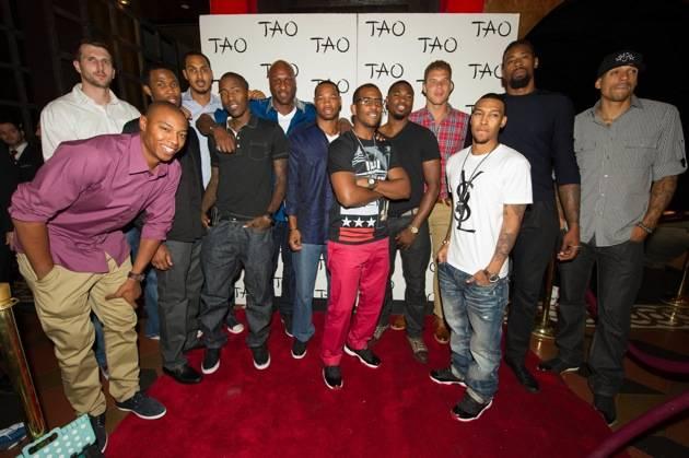 Chris Paul at TAO Nightclub