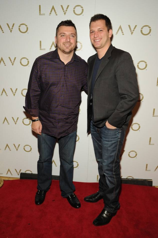 "Chris and Albie Manzo of ""The Real Housewives of New Jersey"" at"