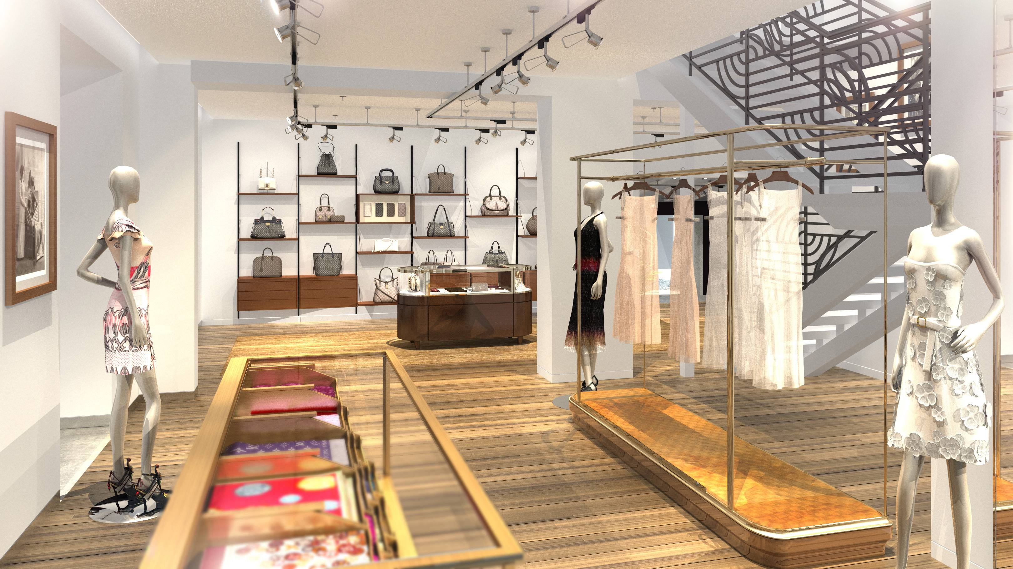 Louis Vuitton Announces New Location In Miami S Design
