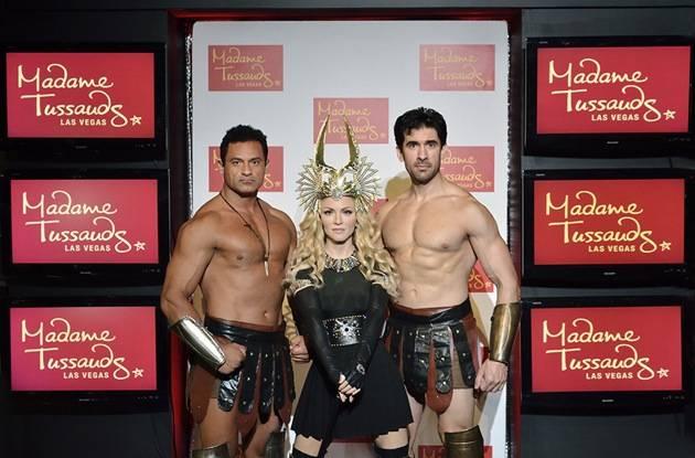 Madonna at Madame Tussauds in Las Vegas