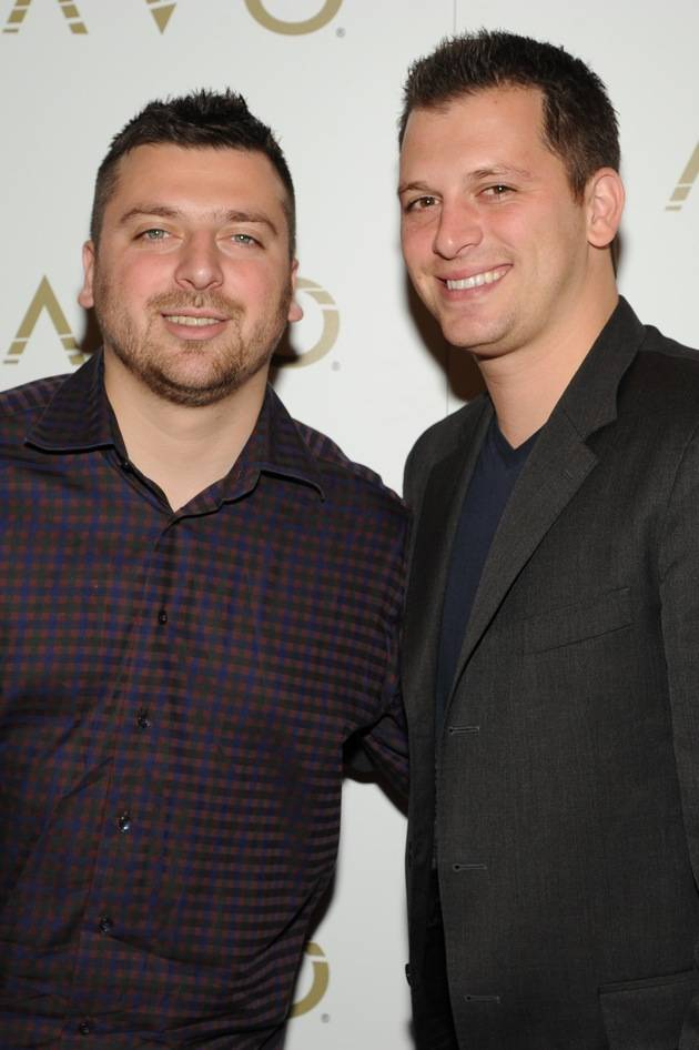 Chris and Albie Manzo of