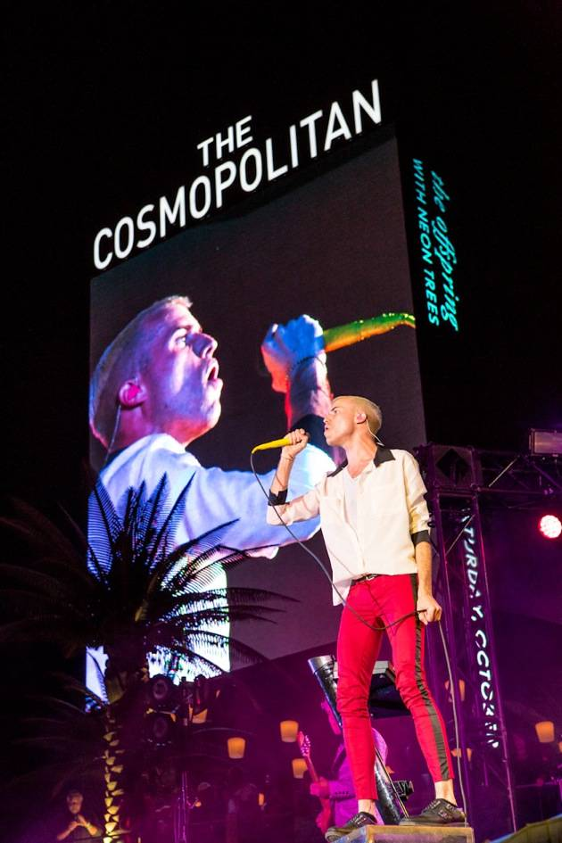 Neon Trees Performs at The Cosmopolitan of Las Vegas in Las Vegas, NV