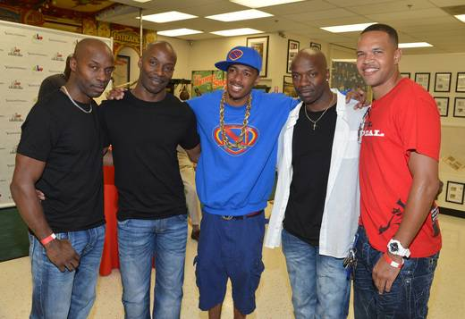 Nick Cannon, the Weaver brothers, Raymond Daniels
