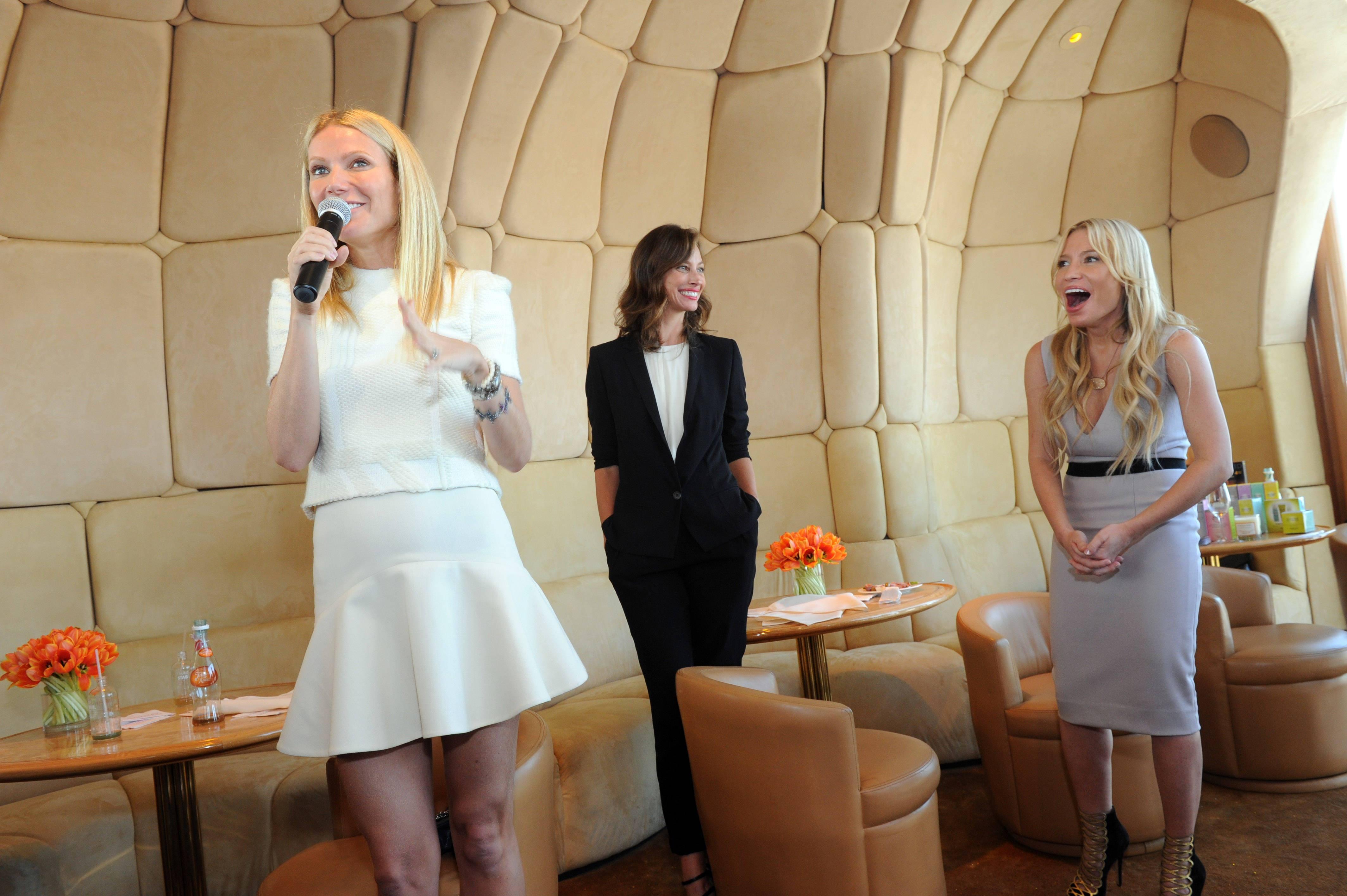Gwyneth Paltrow, Tracy Anderson, Christy Turlington Burns