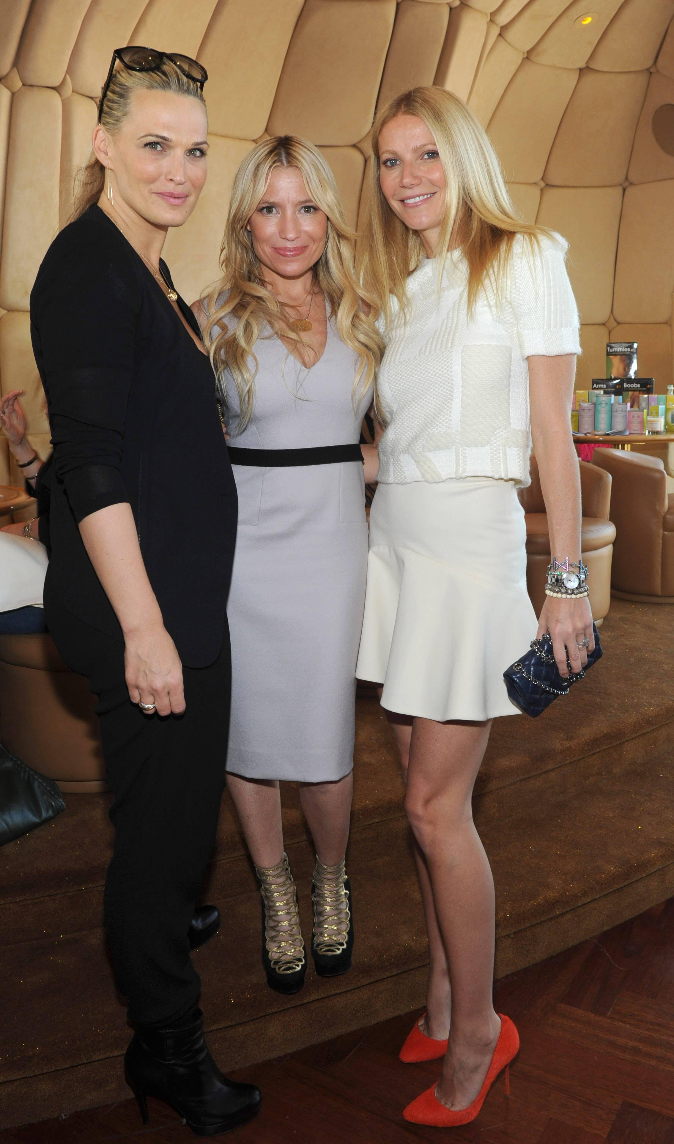 Gwyneth Paltrow, Tracy Anderson, Molly Sims