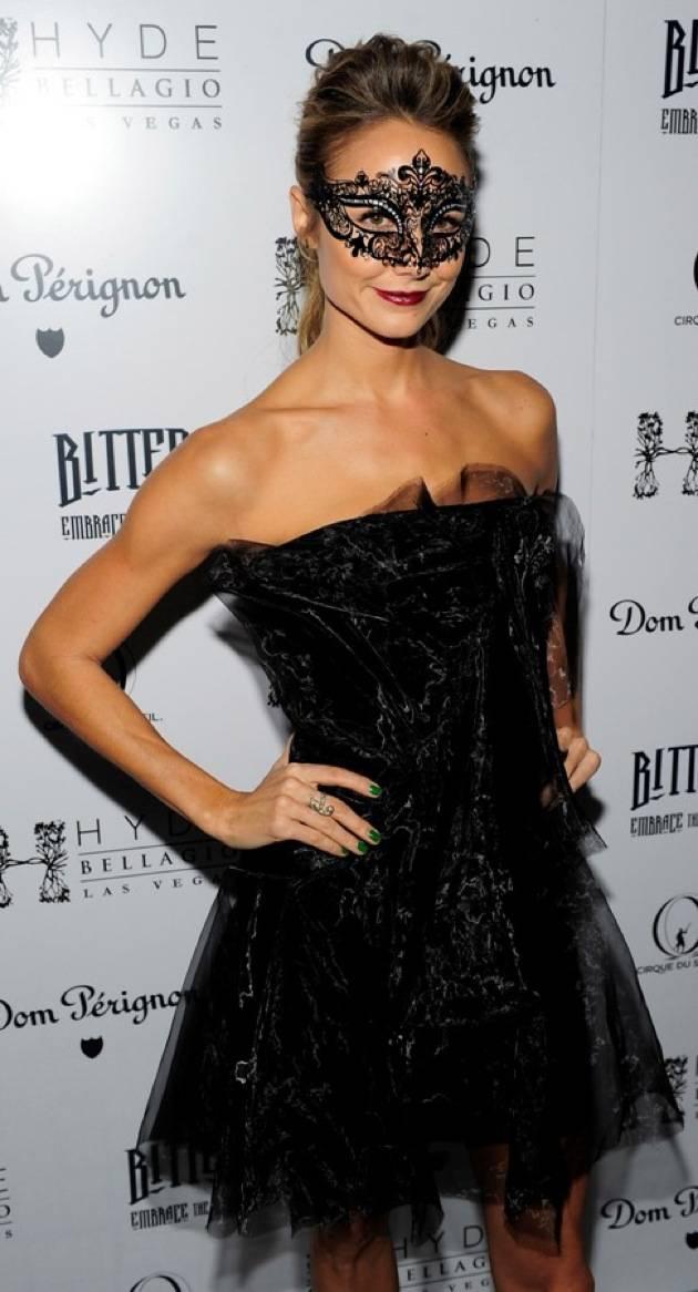 Stacy Keibler hosts Halloween masquerade at Hyde Bellagio, Las Vegas, 10.27.12 (2)