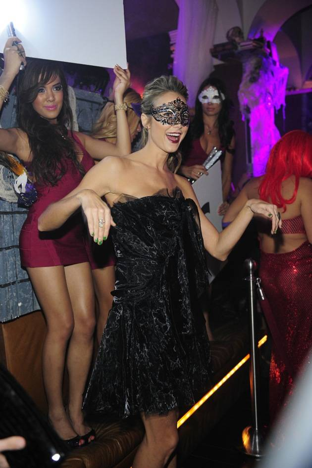Stacy Keibler Hosts A Masquerade Party At Hyde Bellagio