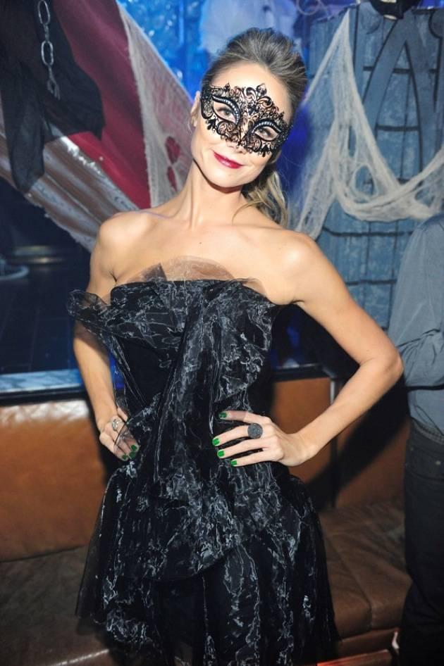 Stacy Keibler hosts Halloween masquerade at Hyde Bellagio, Las Vegas, 10.27.12 (4)