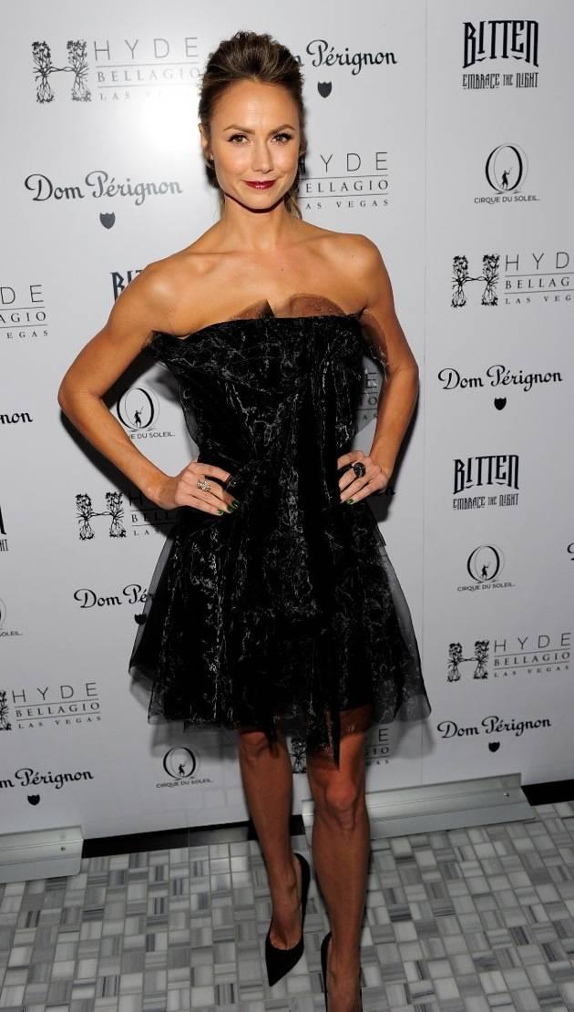 Stacy Keibler hosts Halloween masquerade at Hyde Bellagio, Las Vegas, 10.27.12