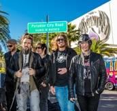 Paradise Road renamed for Guns N' Roses at Hard Rock Hotel in Las Vegas, NV