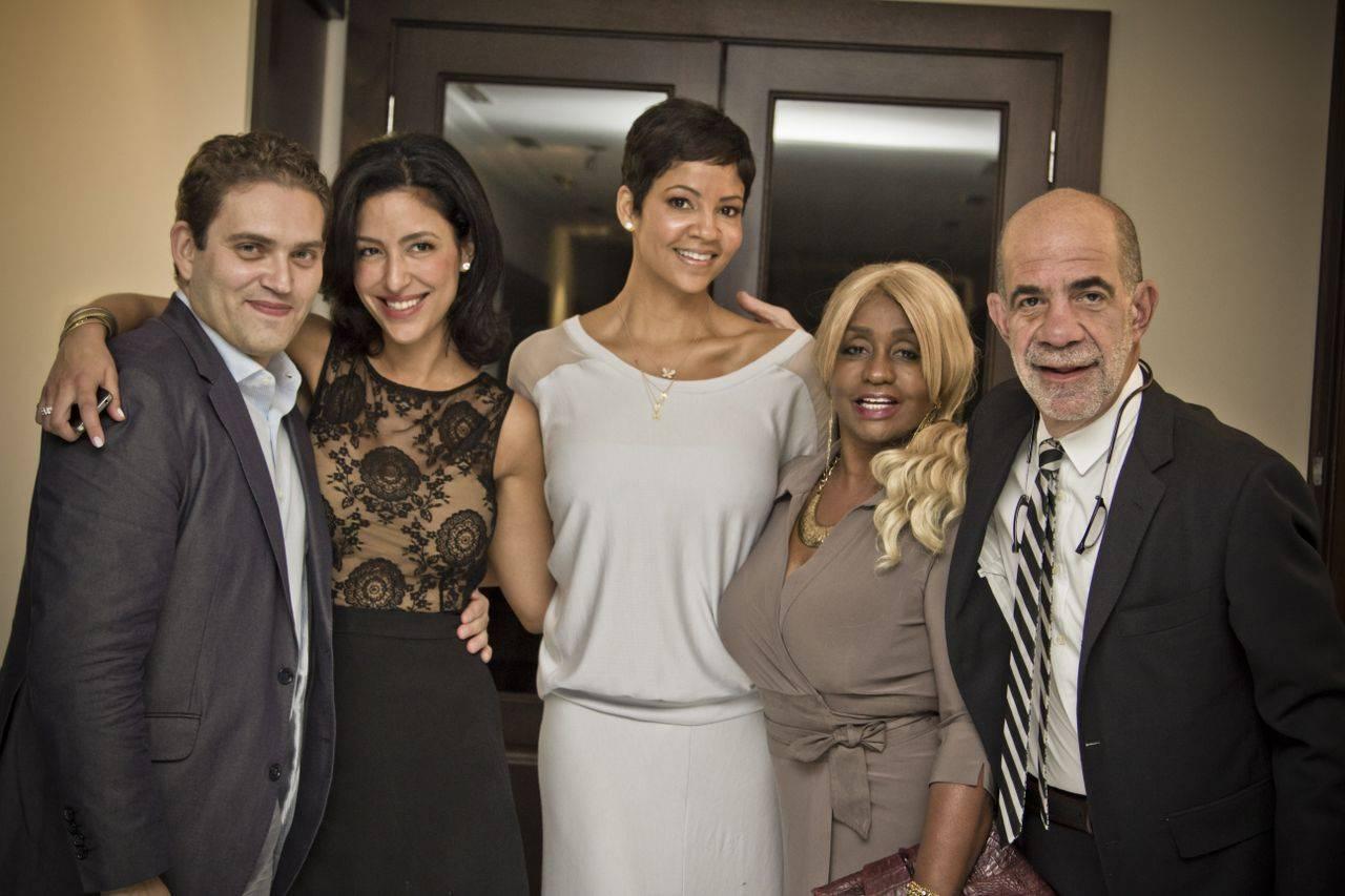 Raphael Alvarez, Violet Camacho, Tracy Mourning, Janice