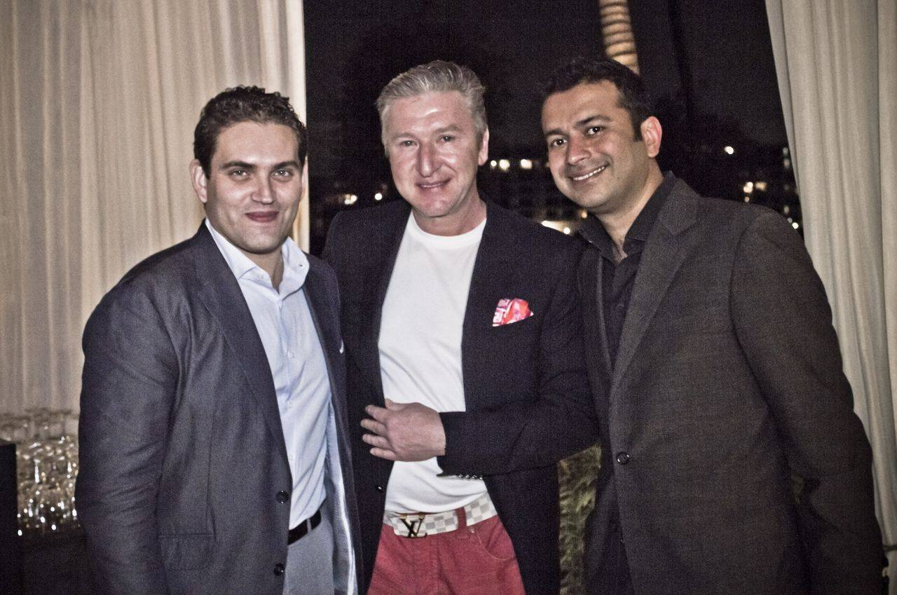 Raphael Alvarez, Simon Garber and Kamal Hotchandani