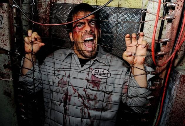 2012 Halloween Bash At Eli Roth's Goretorium