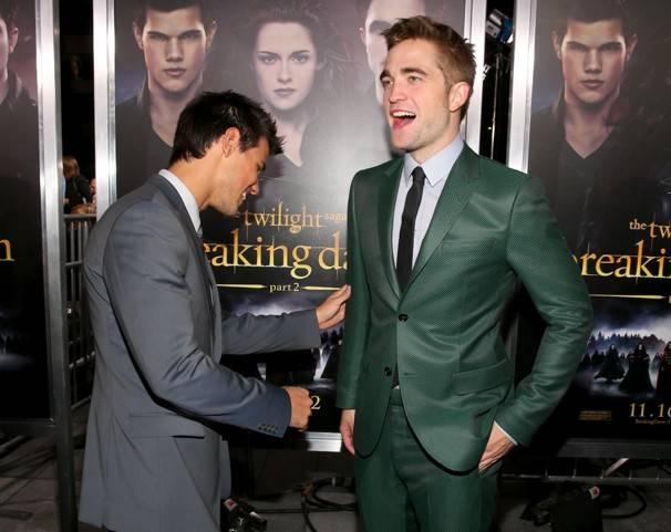 Taylor Lautner, Robert Pattinson