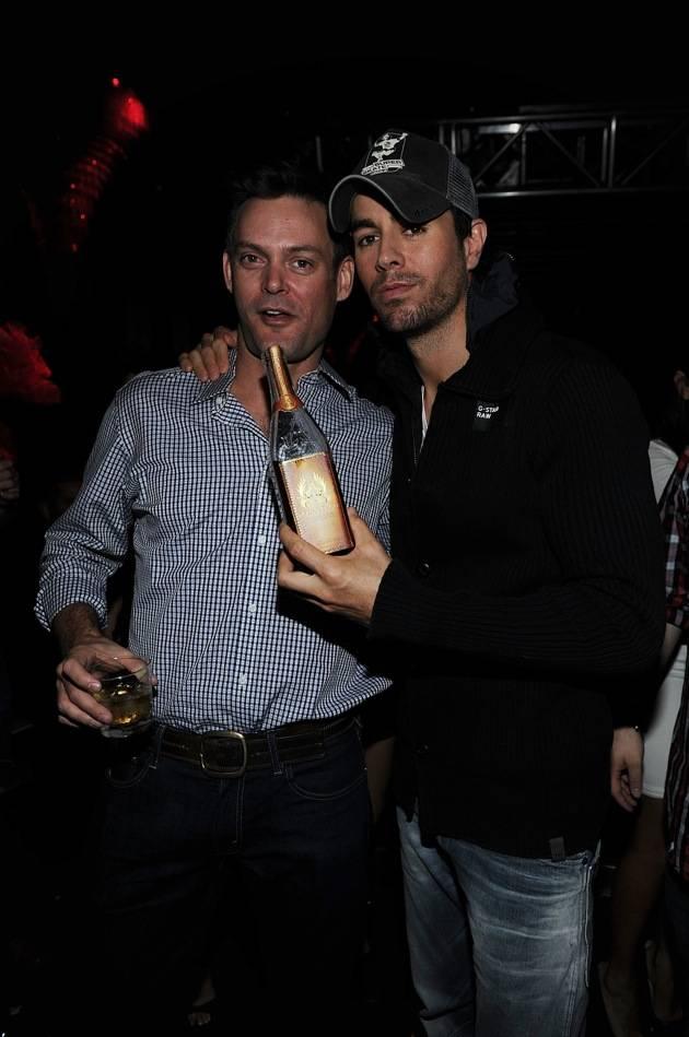 Enrique Iglesias Hosts Post-Latin Grammy Atlantico Rum Party