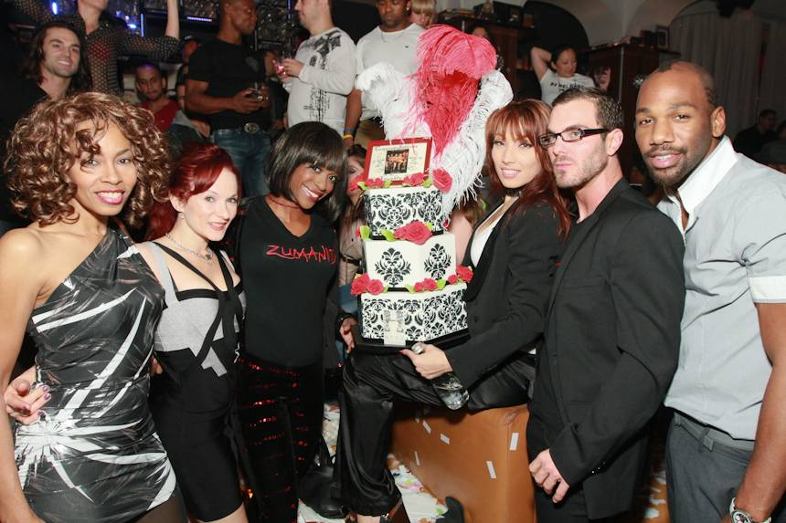 2 Zumanity Cast at Hyde Bellagio 11.13.12
