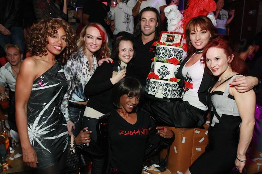 3 Zumanity Cast at Hyde Bellagio 11.13.12
