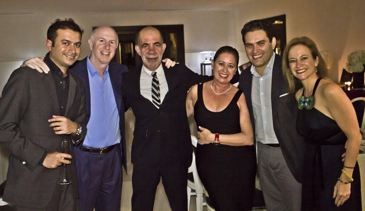 Mark Roberts, Alan Zelcer, Ruth Zelcer and Raphael Alvarez