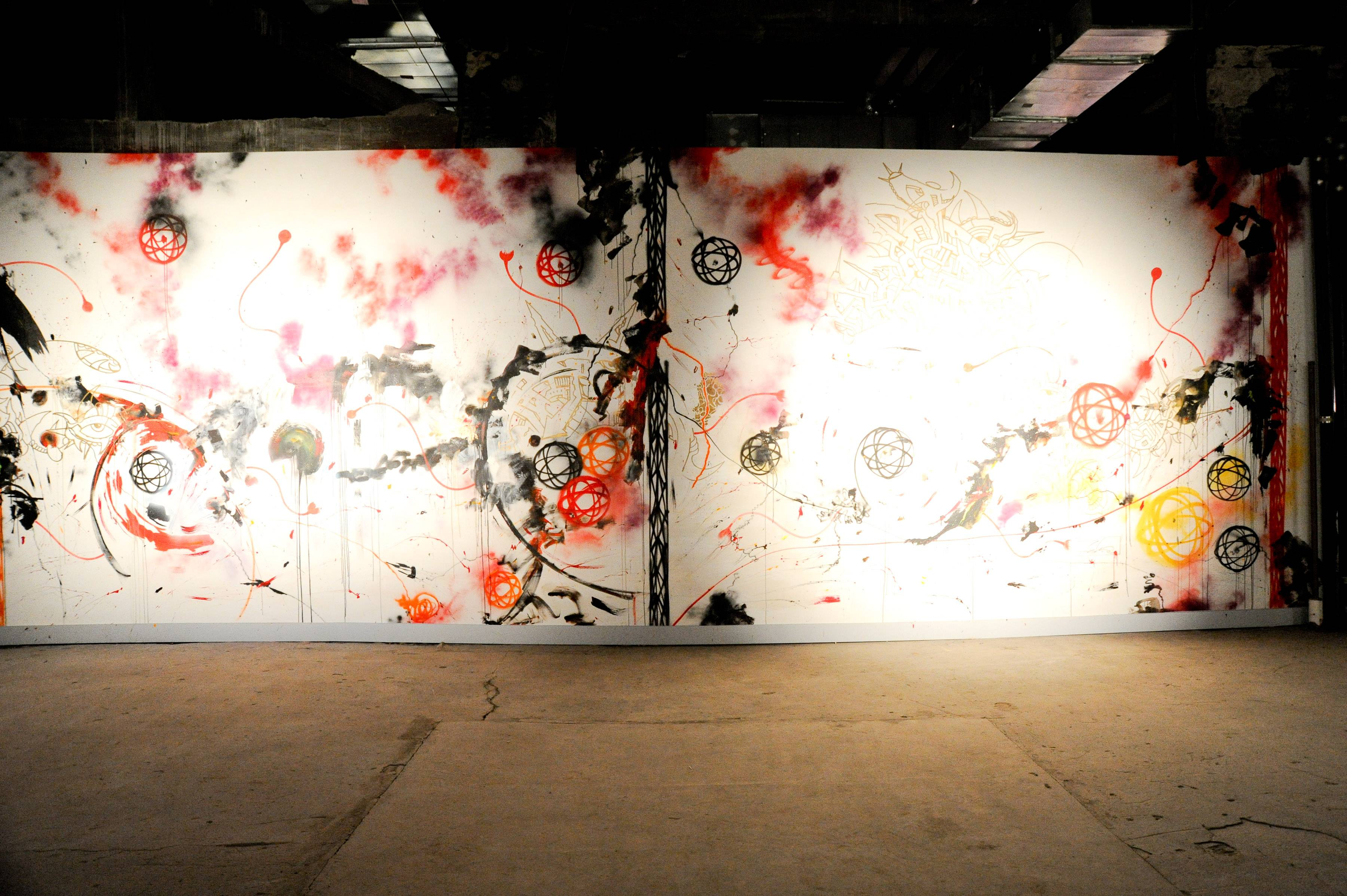 Joseph Nahmad Contemporary Opening For Deep Space Featuring Matta, Phase 2, Futura and Rammellzee