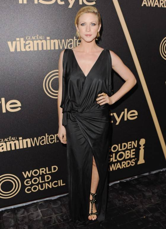 Brittany Snow - InStyle Miss Golden Globe Party -01-560x772