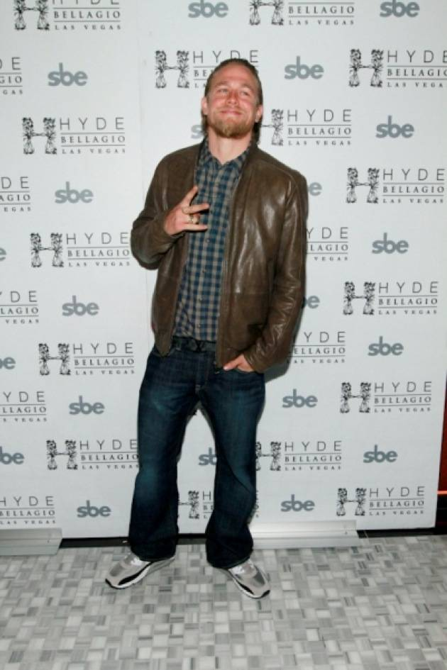 Charlie Hunnam at Hyde Bellagio, Las Vegas