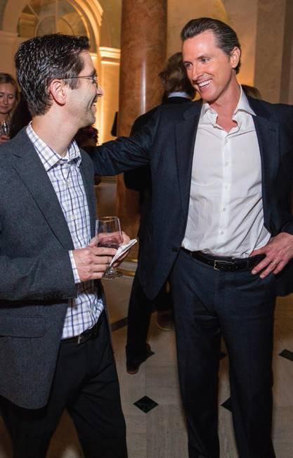 David Levitt and The Honorable Gavin Newsom