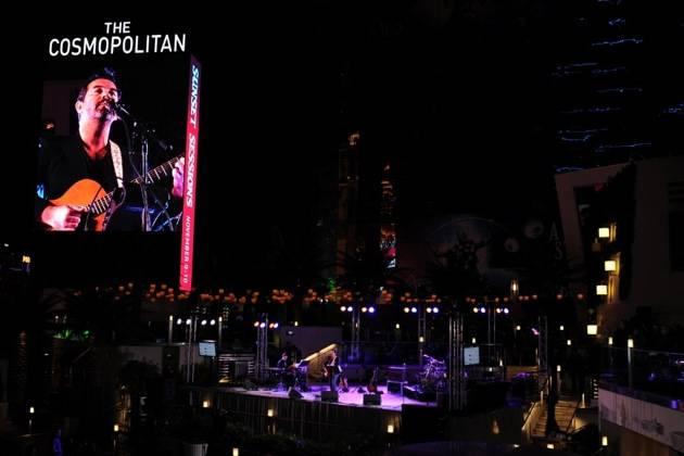 November 9, 2012, Las Vegas, Nevada, USA, Sunset Sessions Vegas – Duncan Sheik headlines Friday night at Sunset Sessions Vegas at the Cosmopolitan Hotel in Las Vegas Nevada.
