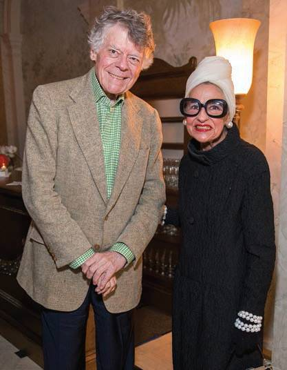 Gordon Getty and Joy Bianchi