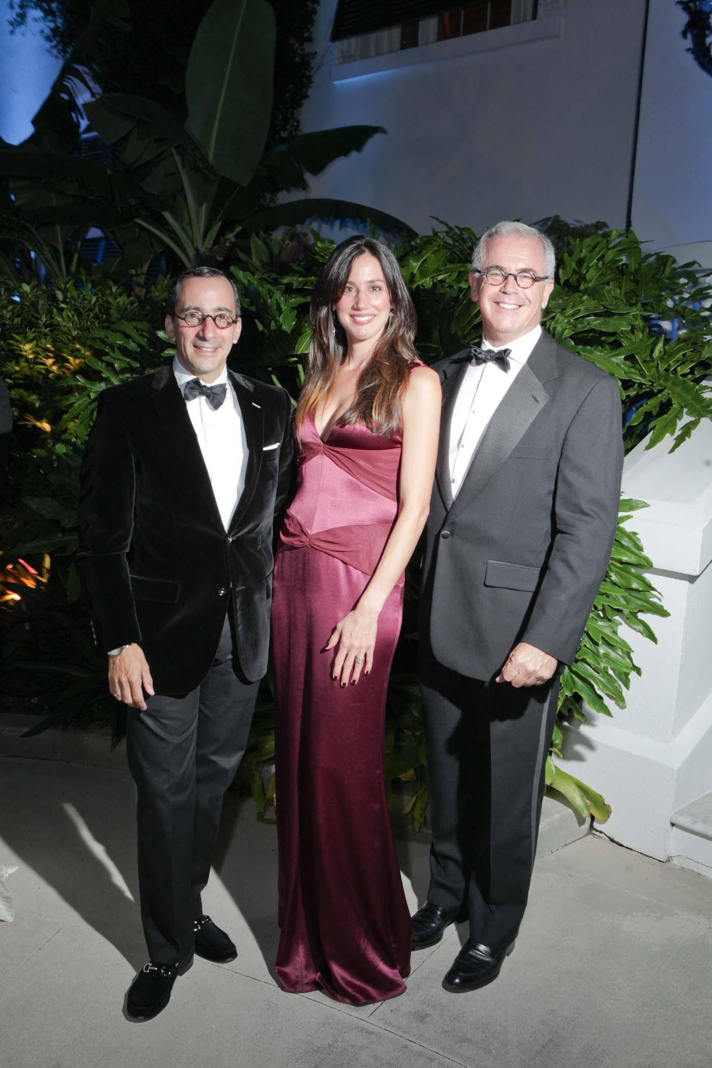 Scott Velozo, Rosemary  Denny and Stephen Mooney