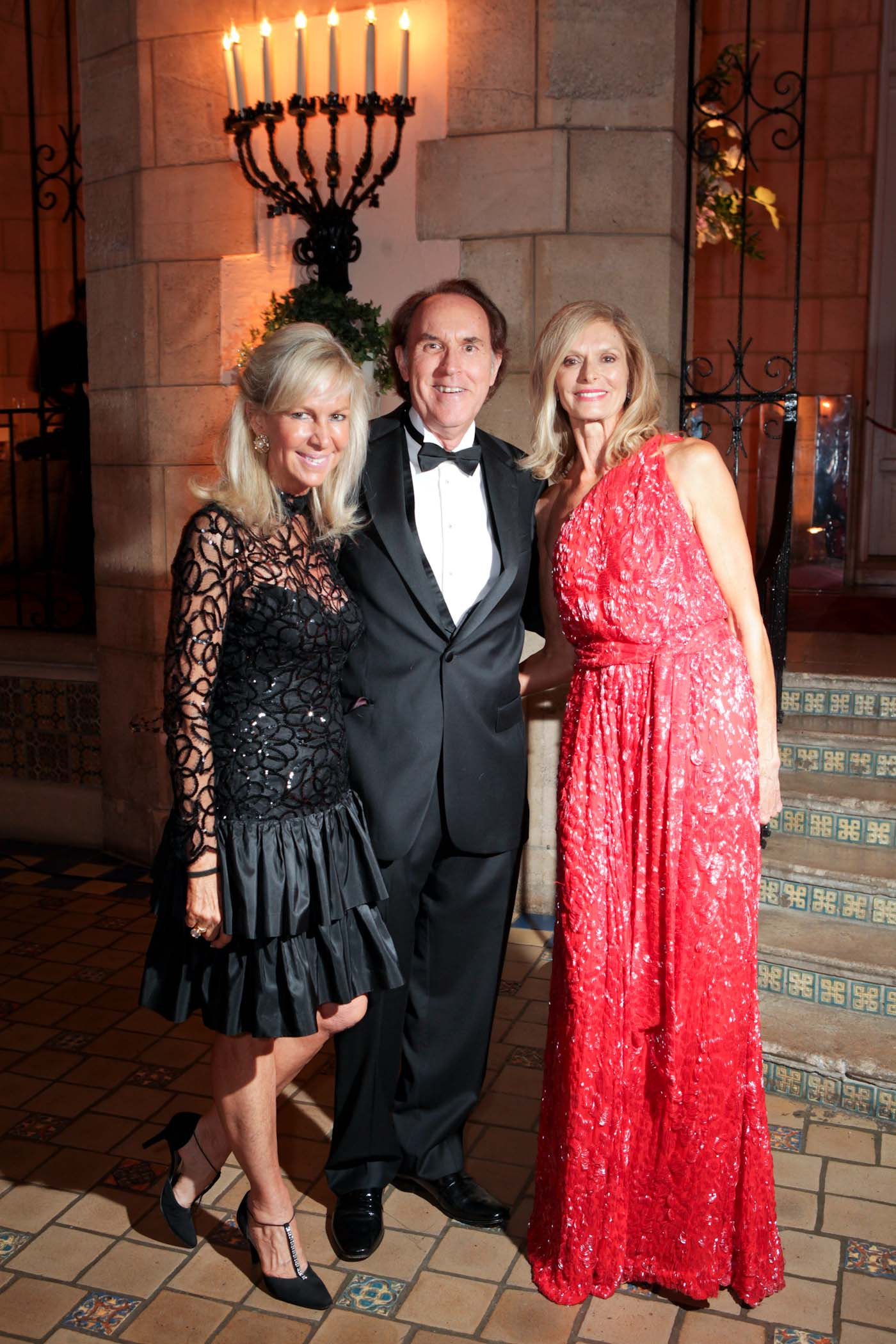 Denise and Daniel Hanley with Inge Anderson