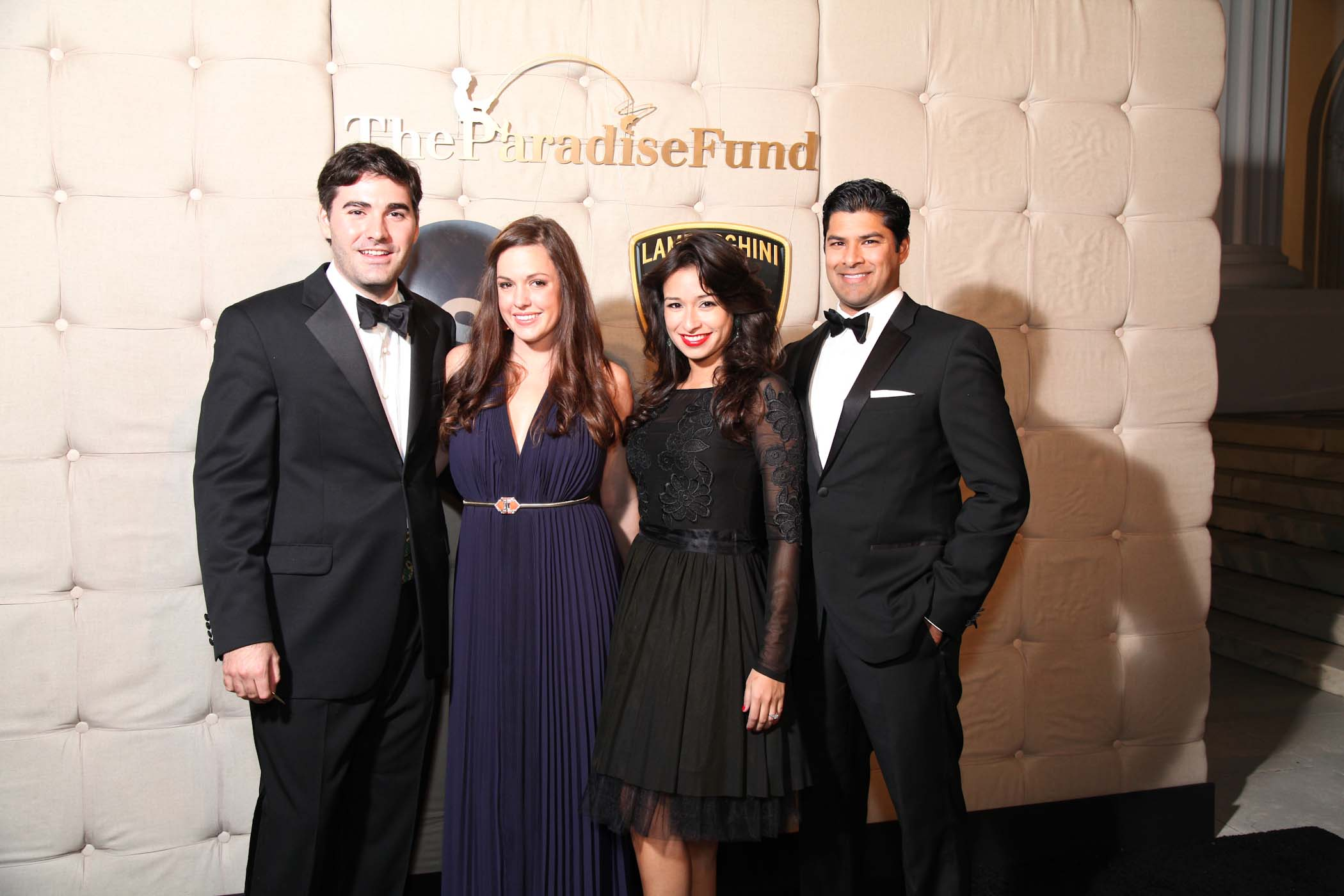 Nick Kassatly, Stacy Nichols with Carla Shah and Punit Shah